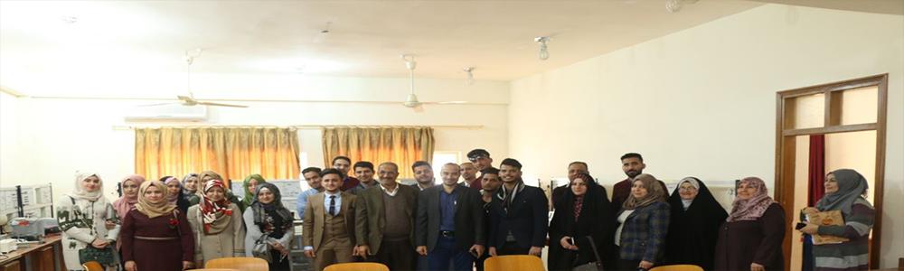 كلية الهندسة تنظم سفرة علمية لجامعة بابل